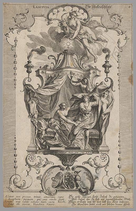 Stredoeurópsky grafik z 18. storočia – Necudnosť