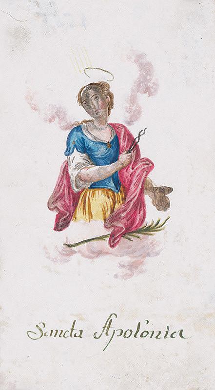 Stredoeurópsky autor z 18. - 19. storočia - Sv. Apolónia