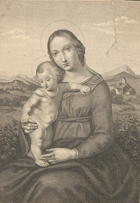 Stredoeurópsky autor z 19. storočia - Madona