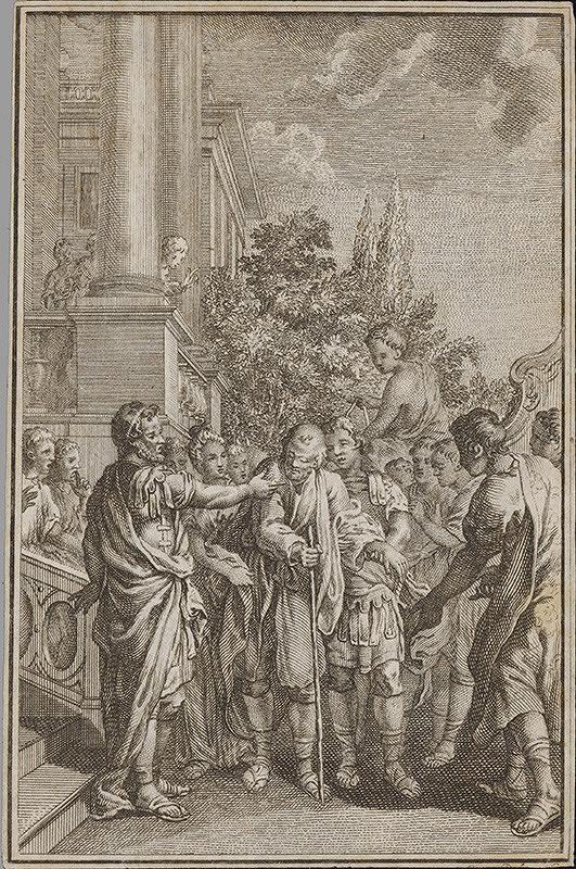 Stredoeurópsky grafik z 18. storočia – Antický výjav