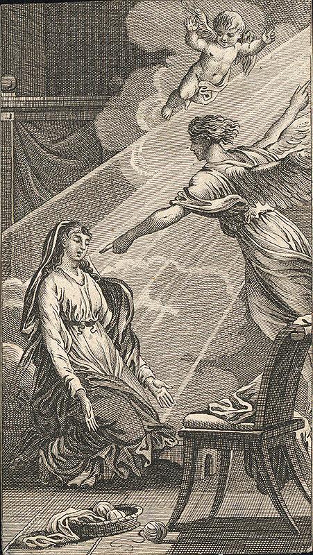 Stredoeurópsky autor z 18. - 19. storočia - Zvestovanie
