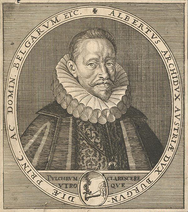 Stredoeurópsky autor zo 17. storočia – Portrét Albrechta VII. Habsburského