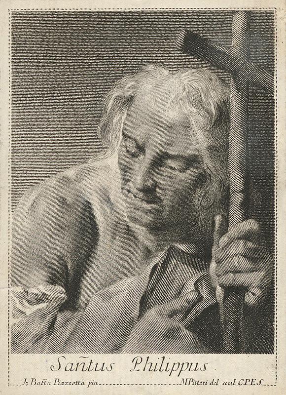 Giovanni Battista Piazzetta, Marco Alvise Pitteri - Svätý Filip