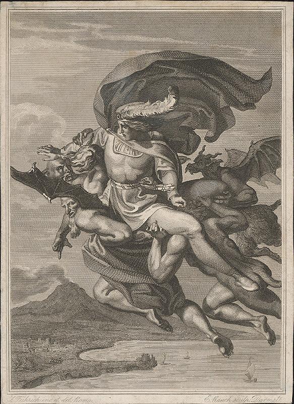 Ernst Rauch, Joseph von Führich – Únos