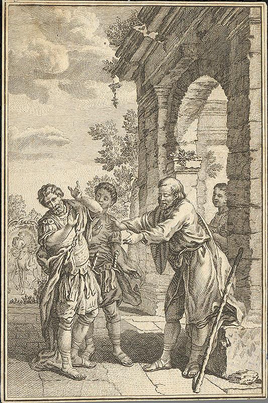 Stredoeurópsky autor z 18. storočia - Slepý starec