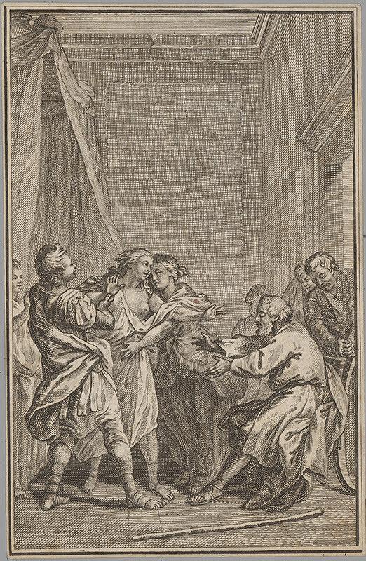 Stredoeurópsky grafik z 18. storočia – Mytologický motív