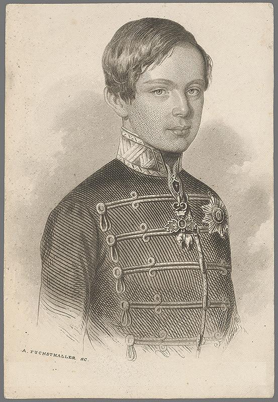 Alajos Fuchsthaller – Portrét chlapca