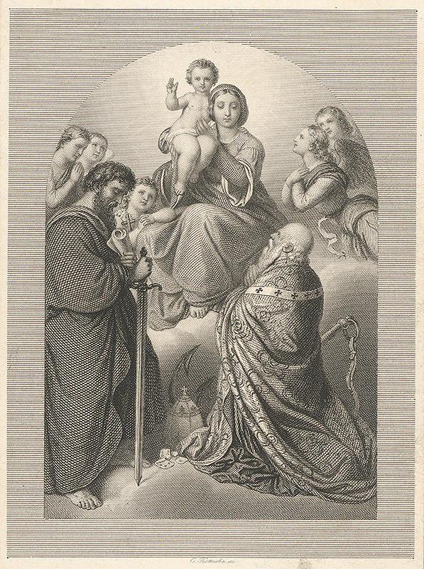Karl Kotterba – Adorácia Panny Márie