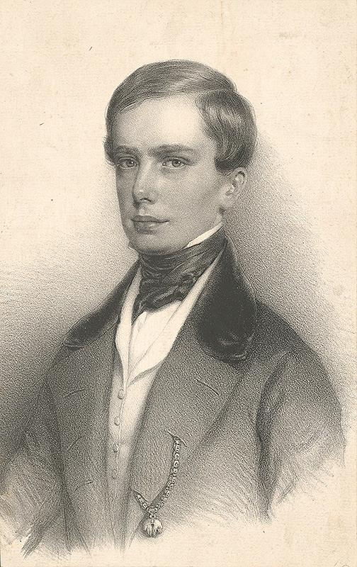 Stredoeurópsky grafik z 19. storočia - Portrét cisára Františka I.
