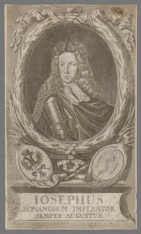Martin Bernigeroth – Portrét cisára Jozefa I.