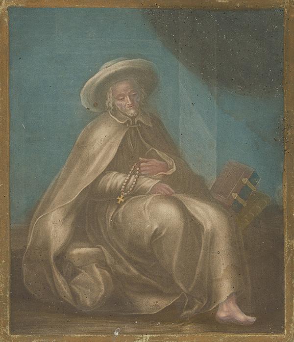 Stredoeurópsky grafik z 18. storočia – Svätec