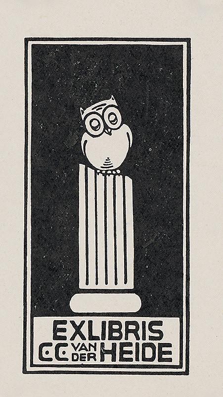 Stredoeurópsky grafik z 20. storočia – Ex libris