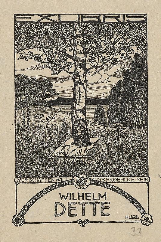 Hermann Hirzel – Ex libris