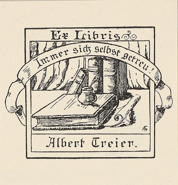Adolph Johannes Fischer – Ex libris