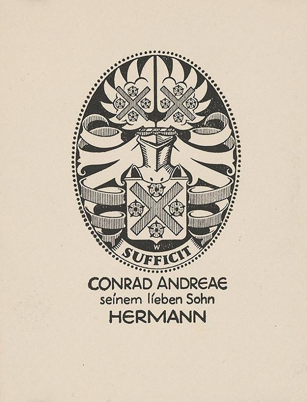 Stredoeurópsky grafik z 1. polovice 20. storočia - Ex libris