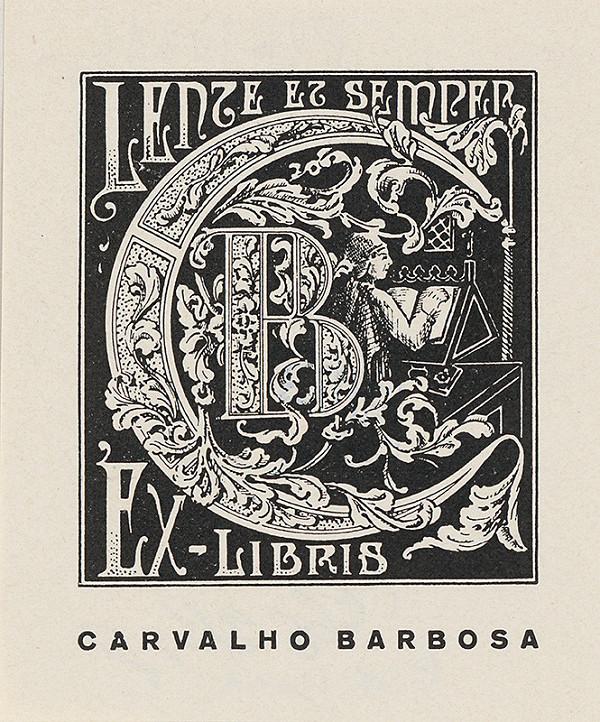 Stredoeurópsky grafik z 20. storočia - Ex libris Carvalho Barbosa