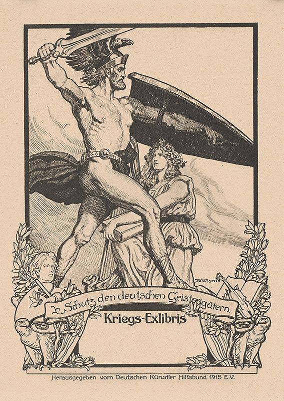Franz Stassen - Ex libris