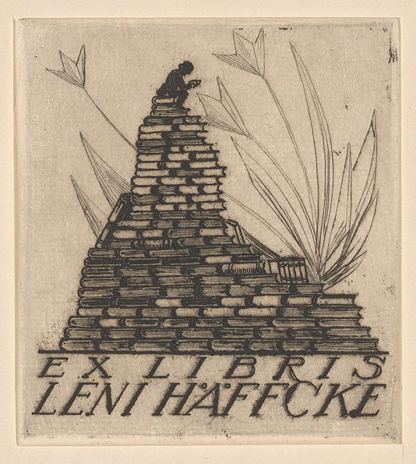 Stredoeurópsky grafik z 20. storočia - Ex libris Leni Häffcke