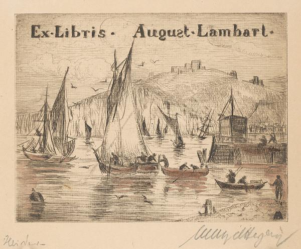 Stredoeurópsky grafik z 20. storočia - Ex libris August Lambart