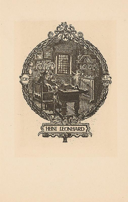 Stredoeurópsky grafik z 20. storočia – Ex libris Heini Leonhard