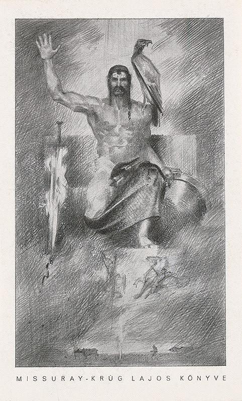 Stredoeurópsky grafik z 20. storočia - Ex libris Krůg Lajos