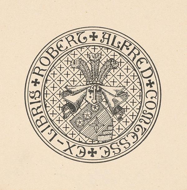 Stredoeurópsky grafik z 20. storočia - Ex libris Robert Alfred Comtesse