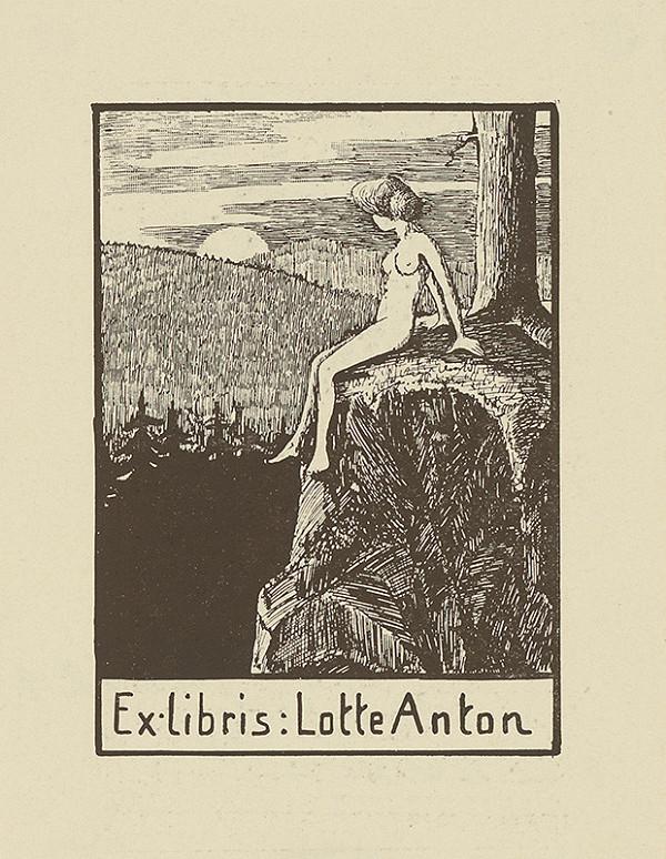 Stredoeurópsky grafik z 1. polovice 20. storočia – Ex libris