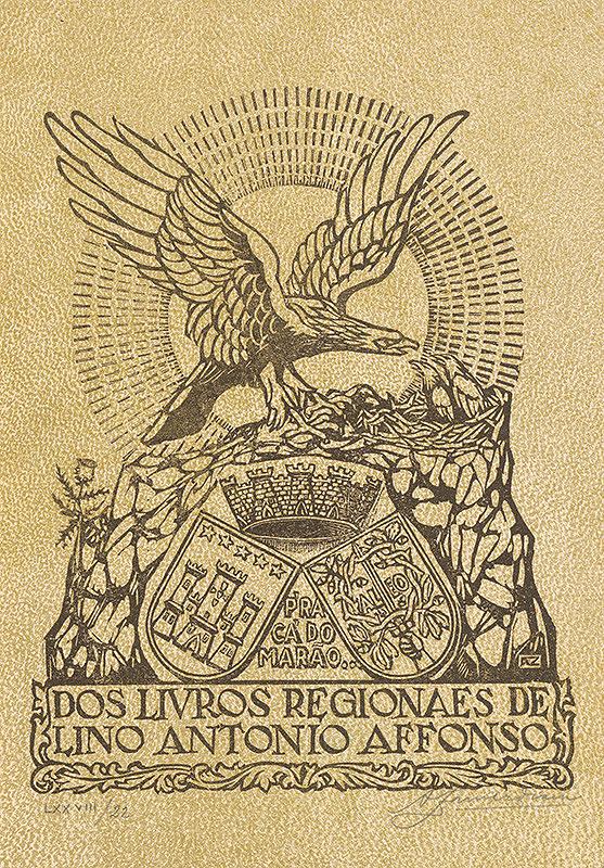 Stredoeurópsky grafik z 20. storočia - Ex libris Antonio Affonso