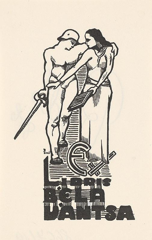 Stredoeurópsky grafik z 1. polovice 20. storočia – Ex libris Béla Vántsa