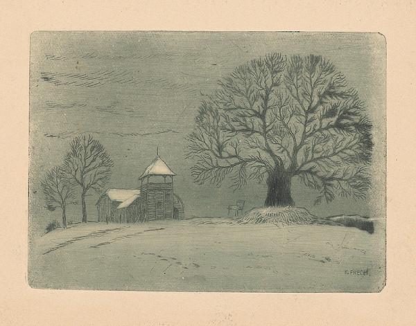 Karol Frech – Zimná krajina