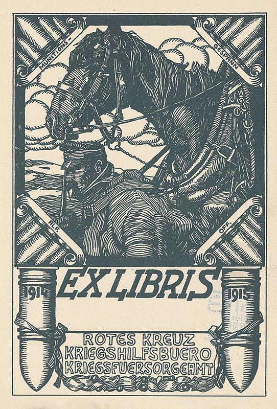 Stredoeurópsky grafik z 1. štvrtiny 20. storočia - Ex libris