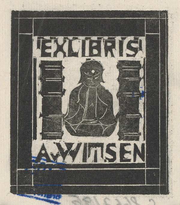 Stredoeurópsky grafik z 20. storočia – Ex libris A.Witsen
