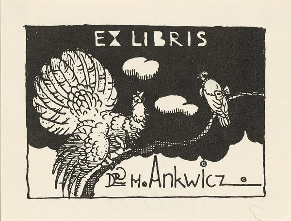 Stredoeurópsky grafik z 1. polovice 20. storočia – Ex libris Dr. M.Ankwicz