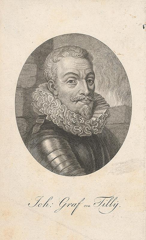 Stredoeurópsky grafik z 2. polovice 17. storočia - Portrét grófa Jána Tillyho