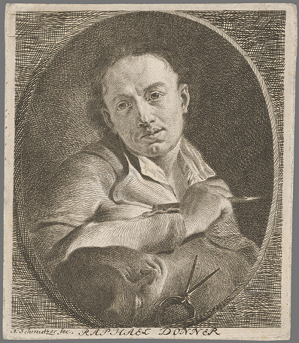Joseph Schmutzer - Podobizeň Donnera