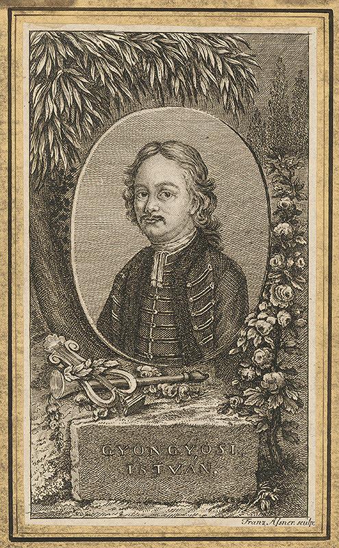 Franz Asner – Podobizeň Istvána Gyongyosiho