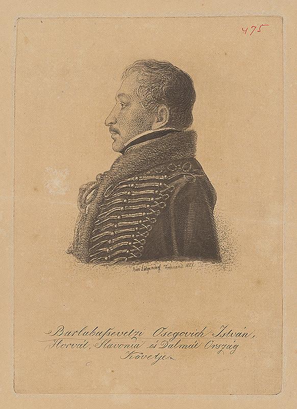 Ferdinand Karl Theodor Lütgendorff - Portrét Štefana Osegovicha