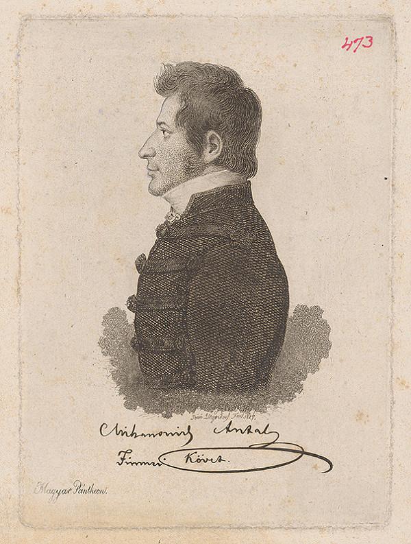 Ferdinand Karl Theodor Lütgendorff – Portrét Mihanovicha Antala