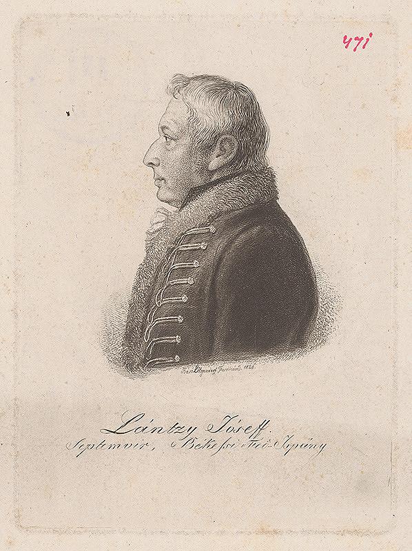 Ferdinand Karl Theodor Lütgendorff - Portrét Jozefa Lántzyho