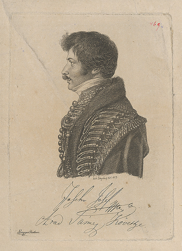 Ferdinand Karl Theodor Lütgendorff - Portrét Jozefa Jascho