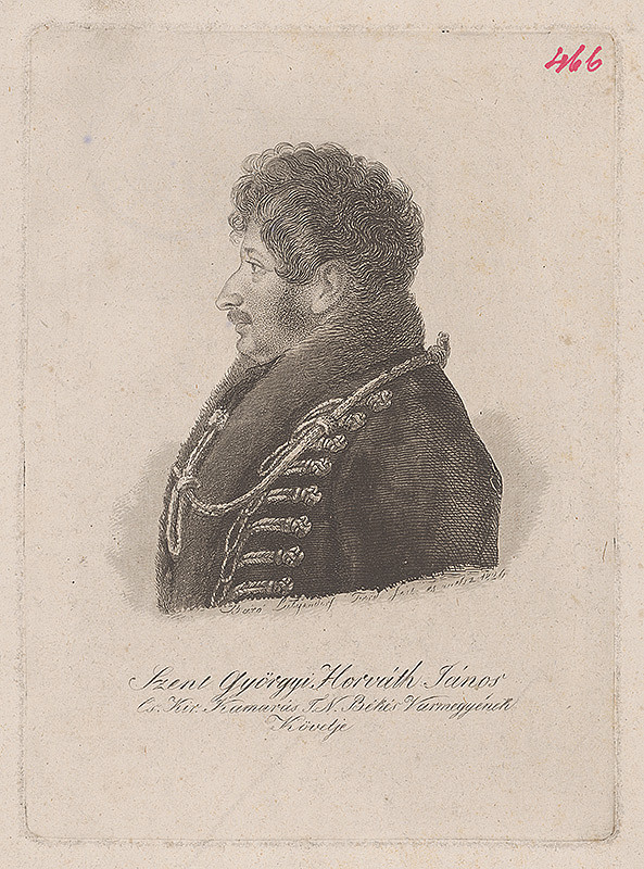 Ferdinand Karl Theodor Lütgendorff - Portrét Jána Horvátha