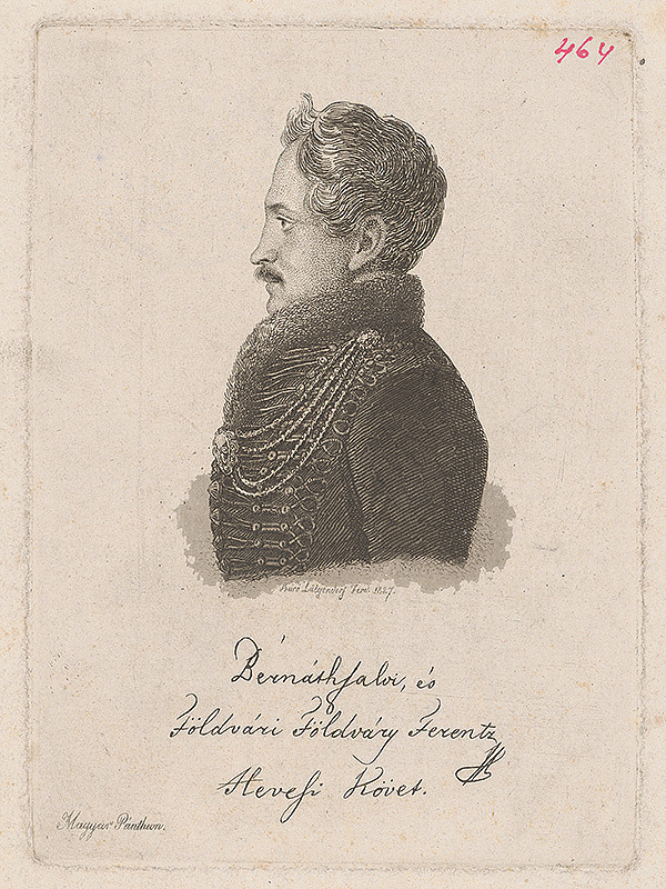 Ferdinand Karl Theodor Lütgendorff – Portrét Františka Földváryho