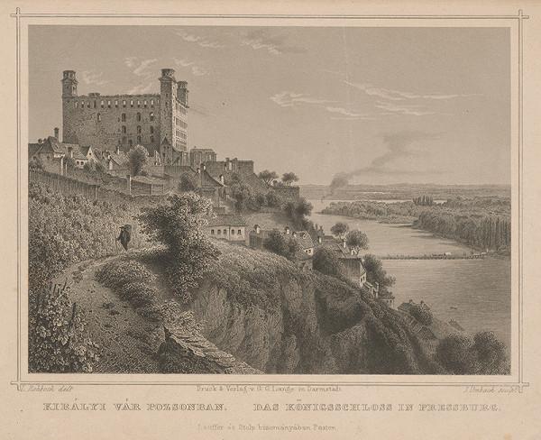Julius Umbach, Ludwig Rohbock – Bratislavský hrad
