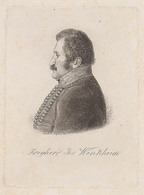 Ferdinand Karl Theodor Lütgendorff - Portrét Jozefa Wenkheima