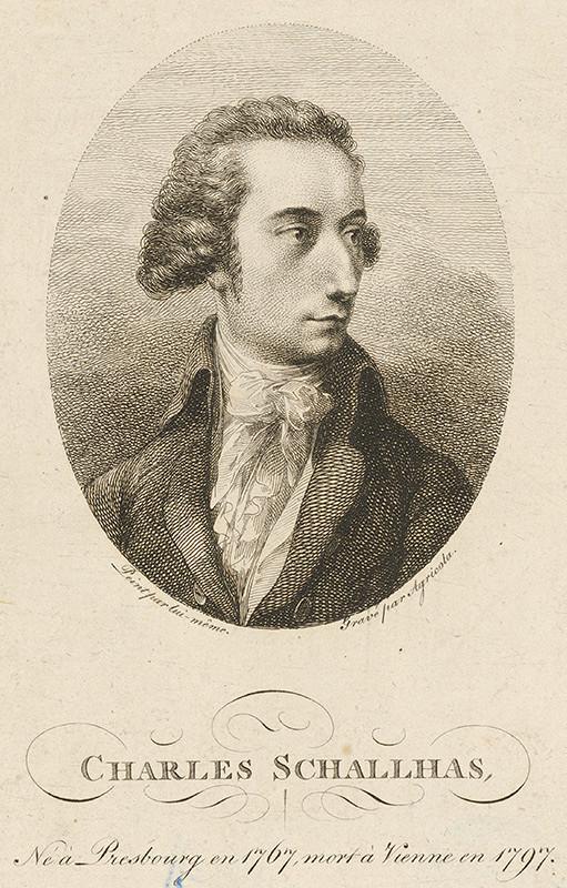 Karl Joseph Aloys Agricola, Carl Philipp Schallhas – Portrét Karola Schallhasa