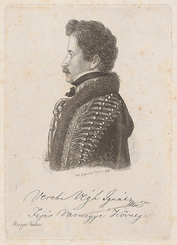 Ferdinand Karl Theodor Lütgendorff – Portrét Ignáca V.Verebiho