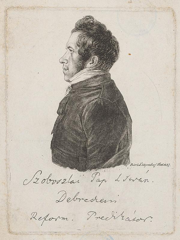 Ferdinand Karl Theodor Lütgendorff - Portrét Szoboszlaiyho