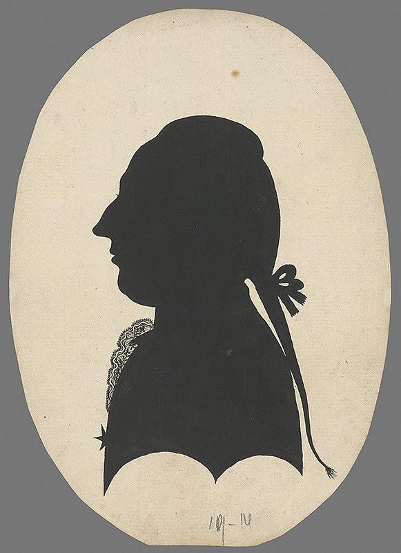 Stredoeurópsky grafik zo začiatku 19. storočia - Portrét muža