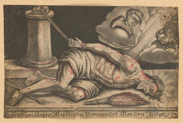 Nemecký grafik z 19. storočia – Ecce homo