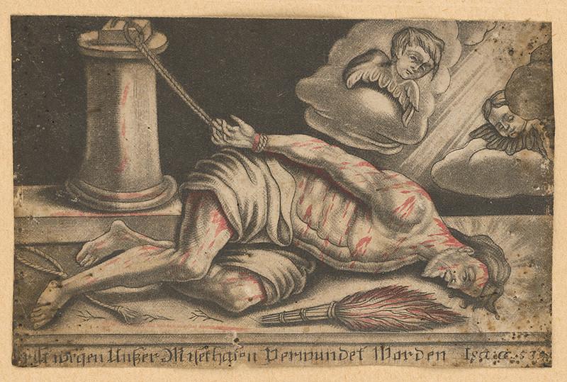 Nemecký grafik z 19. storočia – Ecce homo, 1810–1820, Galéria mesta Bratislavy